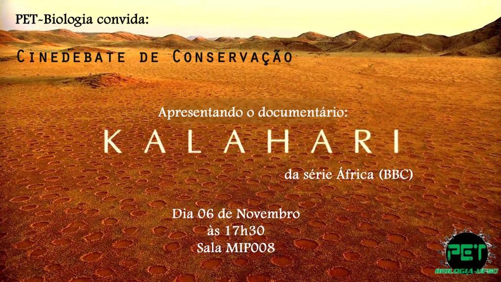 Divulgação Cinedebate Conservação